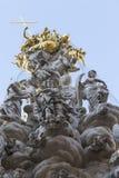 Architecturale elementen van de plaagkolom in het centrum Royalty-vrije Stock Fotografie
