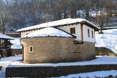 Architecturale etnografische complexe Etar, Gabrovo, Bulgarije Royalty-vrije Stock Fotografie