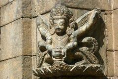 Architecturale hulp in Katmandu, Nepal Stock Afbeelding
