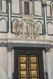 Architecturale ornamenten in Florence stock afbeeldingen