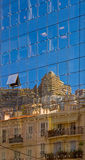 Architecturale Relections Stock Foto
