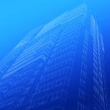 Architecturale schets van de bouw Royalty-vrije Stock Foto