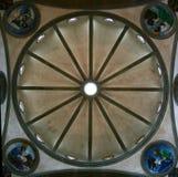 Architecturale symmetrie Stock Foto's