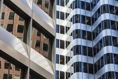 Architecturale tegengestelden Stock Afbeelding