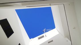 Architecturale urbanistische abstractie gesloten vensters Royalty-vrije Stock Fotografie