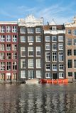 Architecturale voorgevels van een waaier van stijlen waarvoor de stad is Stock Fotografie