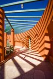 Architecturale vorm Royalty-vrije Stock Afbeelding