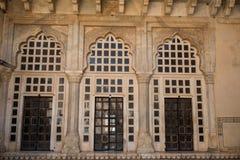 Architecture à l'intérieur d'Amer Palace Complex Images stock