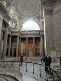 Architecture à l'intérieur du Panthéon Photographie stock
