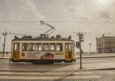 Architecture à Lisbonne, Portugal - Praca font Comercio photo stock