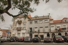 Architecture à Lisbonne, Portugal - rues et maisons photographie stock libre de droits