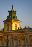 Architecture 06. Wilanow Palace in Warsaw, Poland. Kings residance Stock Image
