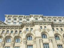 Architecture. From the second large building in the world, Parliament Palace in Romania Royalty Free Stock Photography