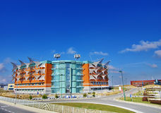 Architecture. Picture of the new buildings and new architecture Royalty Free Stock Photo