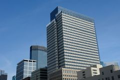Architecture. A picture of Modern Architecture in downtown Minneapolis Stock Images