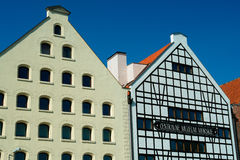 Architecture-3. XVII eternal cereal granary in Gdansk Royalty Free Stock Images
