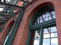 Architecture. Old factory renovated in Pittsburgh Pennsylvania - architecture Stock Photos