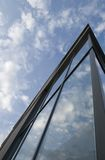 Architecture. A view on a modern office building Royalty Free Stock Image