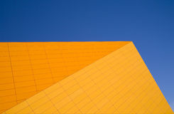 Architecture abstract. Of the Agora theater in Lelystad, the Netherlands Royalty Free Stock Image
