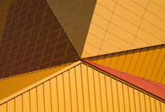 Architecture abstract. Of the Agora theater in Lelystad, the Netherlands Stock Images