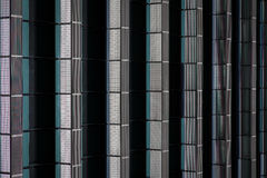 Architecture abstract. Details of windows of an office building Royalty Free Stock Photos