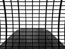 Architecture Abstract of Skyscraper Stock Image