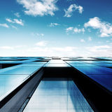 Architecture abstraite Image stock