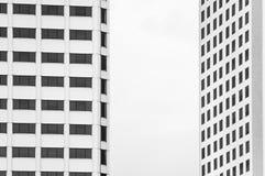 Architecture abstraite dans le monochrome photographie stock
