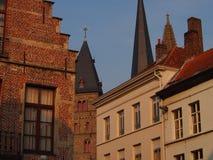 Architecture abstraite de Gand Image libre de droits