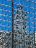 Architecture abstraite de réflexions Photos libres de droits