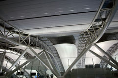 Architecture at airport Royalty Free Stock Photo