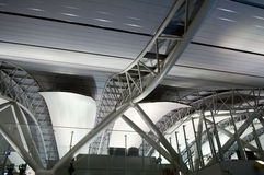 Architecture at airport Royalty Free Stock Image