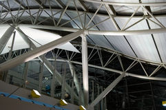 Architecture at airport Royalty Free Stock Photos