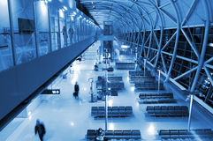 Architecture at airport Stock Photo
