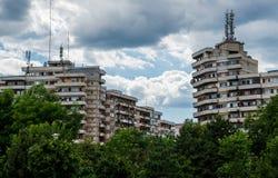 Architecture in Alba Iulia Stock Image