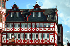 Architecture allemande traditionnelle Photos libres de droits