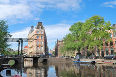 Architecture of Amsterdam Stock Image