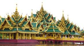 Architecture in ancient city. Samutsakorn, thailand Stock Photos