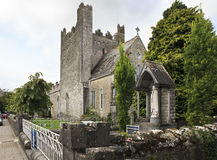 Architecture of ancient temples in the town Adare Royalty Free Stock Photography