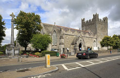 Architecture of ancient temples in the town Adare Royalty Free Stock Images