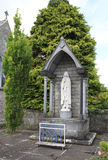 Architecture of ancient temples in the town Adare Royalty Free Stock Photo