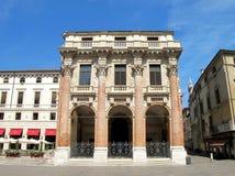 Architecture of Andrea Palladio. Palazzo del Capitaniato. Piazza dei Signori inVicenza, Italy Royalty Free Stock Image