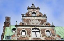 Architecture antique au Danemark Photo stock