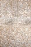 Architecture antique dans le palais d'Alhambra en Espagne Photo stock
