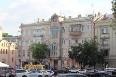 Architecture antique de Kiev Photo stock