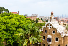 Architecture by Antonio Gaudi Royalty Free Stock Photography