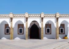 Architecture arabe à la mosquée de Loubnan, Agadir Photos libres de droits