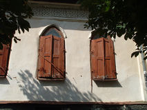 Architecture of arabic. Old building Royalty Free Stock Photography