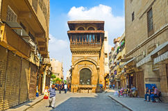 The architecture of Arabic Cairo Royalty Free Stock Photos