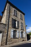 Architecture of Arbois. Jura department, Franche-Comté, France Stock Image